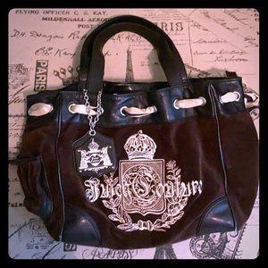 VERY USED Black Vintage Juicy Couture Bag